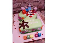 Cakes made to order for all Occasions - Birthdays - Christenings - Weddings - Anniversarys