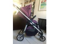iCandy designer rare purple pram & travel system