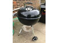 Weber Original BBQ, 57 cm, 1 year old, very good condition