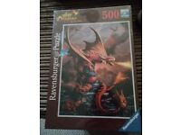 Brand New Boxed 'Age of Dragons' Puzzle - 500 piece.