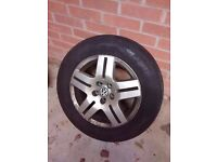 "Volkswagen Golf GTI Bora Passat TDI 15"" Alloy Wheel 6.5J. Great Condition, with Centre Cap"