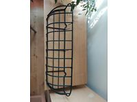 heavy duty wrought iron wall trough 90cm