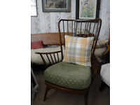 Ercol Evergreen high back Armchair -