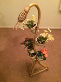 Vintage snake plant holder
