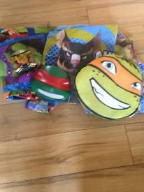 Ninja turtle bedroom bundle