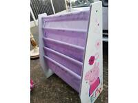 Peppa pig book / shoe rack