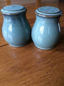 Denby Regency Green condiment set