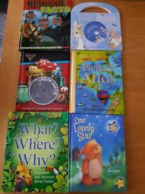 Books and CD story books - excellent condition
