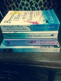 Claudia carol books