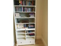"IKEA ""Liatorp"" Bookcase with Drawers"