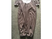 Reindeer Onesie with red heart on the behind. Ladies size 12-14. VGC.