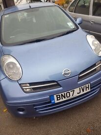 2007 automatic nissan micra