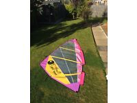 Windsurfing Sail & Mast (as NEW) -BUY BOTH & GET FREE BOARD