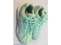 NIKE AIR FORCE 95 MINT GREEN WOMENS TRAINERS SIZE 7