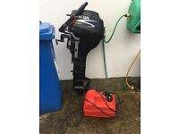 2014 9.8hp Parsun 4 stroke long shaft outboard/boat engine..£600ono