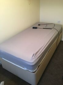 Single electric adjustable bed brand new