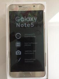 Samsung galaxy note 5 32gb new