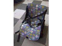 Munchkin travel high chair/booster seat