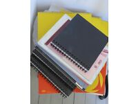 14 unused Artist's Sketch Books. Ideal Art Student use. All mostly as new.
