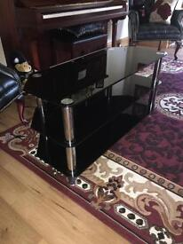 Glass TV stand Good condition