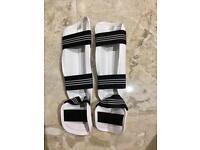 Shin Guards MMA Taekwondo Adidas WTF size M