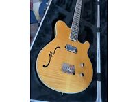 Music Man BFR Axis Semi Hollow Buttery Blonde NEW !! Only 30 made !!