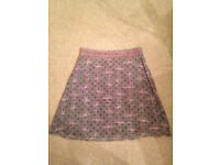 White Stuff - knee length lined winter skirt