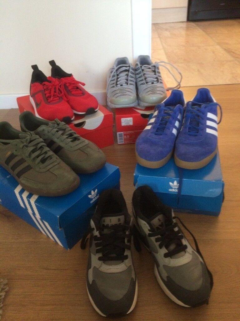 nike  adidas trainers for sale  2b9ff5dcfcbf