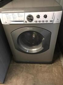 Hotpoint washer dryer in grey and white 7KG