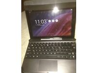Perfect condition Asus mini laptop 16 gnna intel processor and pad with keyboard quick sale