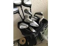 Fila advance carbon shaft golf clubs and drivers
