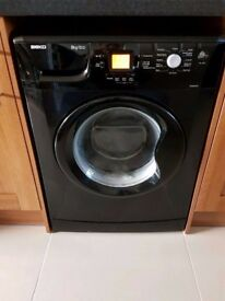 Beko 8kg 1200rpm washing machine black WME8227B