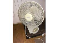 Cooling Oscillating Desk Fan
