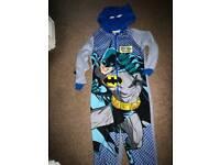 Batman onesie age 8-9