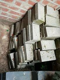 Free - Concrete block slips