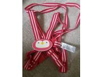 Mothercare harness and walking reins