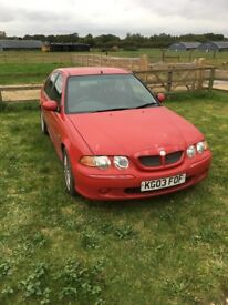 Red MG ZS for sale, good little run around come take a look.