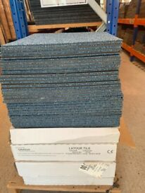 Carpet tiles from a £1 to £1.50 a tile brand new