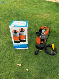 Brand new boxed Flygt ready 8 110v submersible pump. BEST QUALITY
