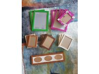 20 picture frames
