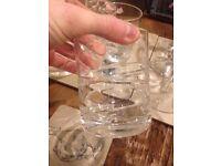 Wine glasses and tumbler set
