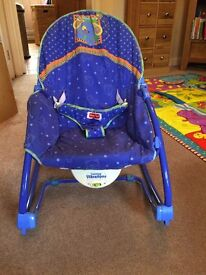 Fisher Price blue bouncer