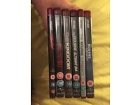 HD DVDS X6 BOURNE & OTHERS
