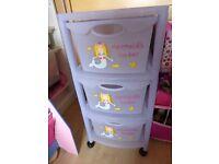 Mermaid toy storage