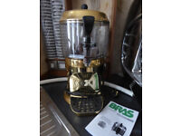 5 Litre Italian Hot Chocolate Machine Gold for Coffee Shop / Cafe Hot Drinks Mixing [ NEVER USED ]