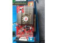 Radeon 9000 128mb pci ddr graphics card
