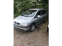 Vauxhall zafira spare or repair
