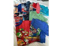 Bundle of boys T-shirt's