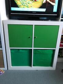 Kids storage unit. 4 cube unit