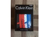 Brand New pack of 2 Calvin Klein boxers